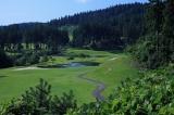美しい丘陵コース